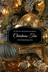 My Blog Series- 10 Tips for Decorating the Perfect Christmas Tree