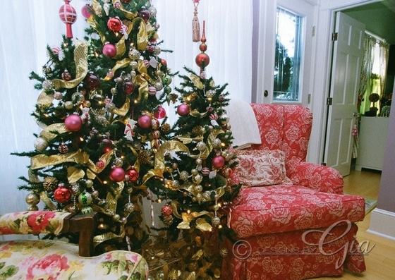 A Pink Christmas that I created for a client a few years back.