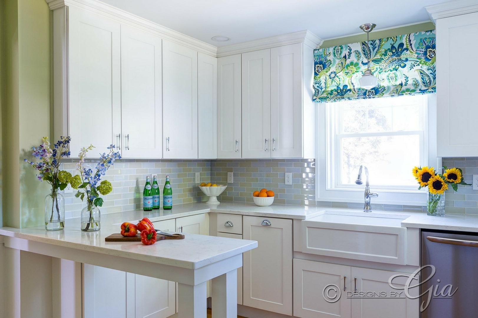 Kitchen Renovation- Historical home - Designs by Gia