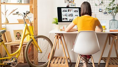 How to create the perfect environment for working from home.