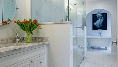 A few things to consider when thinking about a bathroom renovation.