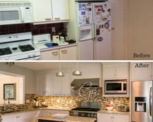 Before/After- Cannon Kitchen