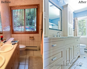 Before/After- North Shore Bath
